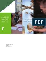 TRO Annual Report 2009-10 Download