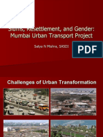 Slums, Resettlement, And Gender