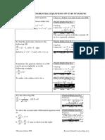 Solving Differential Equations on t i 89 Titanium