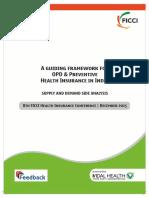 OPD Insurance Report - FICCI