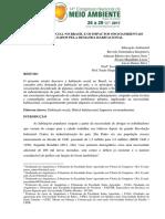 138. Habitação Social No Brasil e Os Impactos Socioambientais Causados Pela Demanda Habitacional