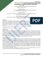 GARBAGE MONITORING & ALERT SYSTEM USING IOT