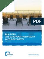 DLA Piper 2010 European Hospitality Outlook Survey