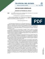 Ley 1-2018, De 30 de Enero, De Presupuestos Generales de La Comunidad Autónoma de La Rioja