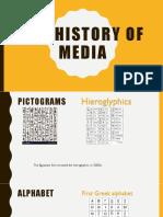 history of media 2