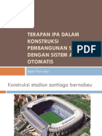 Penerapan Ipa Pada Konstruksi Stadion