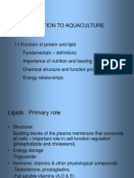 nutrition in aquaculture