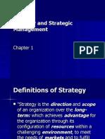 Strategy Strategic Mgt Ch.1