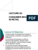 Lec03 Consumer Behaviour in Retail