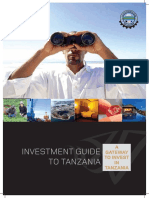 Tanzania Investment Guide