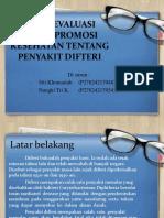 HASIL EVALUASI MEDIA PROMOSI KESEHATAN TENTANG PENYAKIT DIFTERI.pptx
