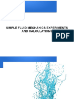 Simple Fluid Mechanics
