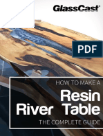 How to Make a Resin River Table GlassCast Handbook