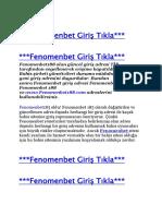Fenomenbet86 Giriş - Fenomenbet 86 Giriş - Fenomenbet86.com Giriş