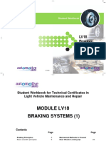 LV18 - Braking Systems (1) - Issue 1