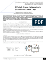 Application of Particle Swarm Optimization to Three Phase Phase-Locked Loop
