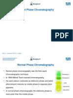 1-NP Chromatography TUM Design ChromA