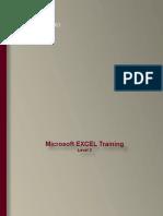 Excel Training - Level 2