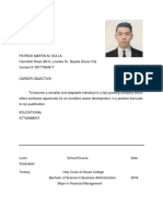 Patrick Martin m Resume for Application (1)