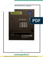 ZonePOD GSM