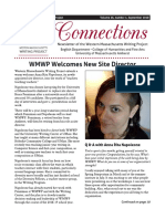 WMWP Fall Newsletter Sept 2018