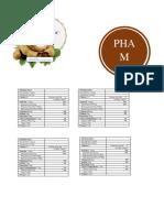 PHAM Company Logo