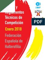 Reglamento Técnico IWF 2017-2020 Pdf (18-03-2017)