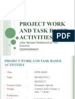 Project Work and Task Based Activities
