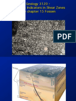 Kinematic Indicators in Shear Zones