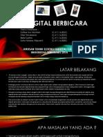 Jam Digital Berbicara