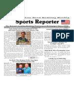 September 19 - 25, 2018  Sports Reporter