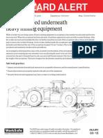 Mining Equipment Fatality