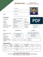 TU Placement Form Bachelors V9 19 Feb 18