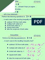 Core1 Inequalities 071010