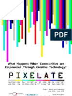 Final Pixelate Report - Design PDF - With Images