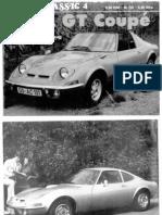 Opel GT brochure