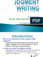 Judgment-Writing-by-Dame-Janice-Pereira.pptx