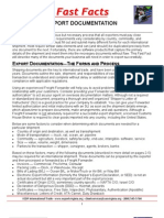 FF Issues Export Documentation Overview