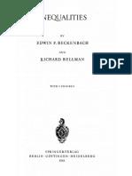 Inequalities - Beckenbach E., Bellman R. 1961 (1)---.pdf