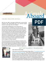 Article Animals Aboard