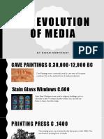documentsthe evolution of media