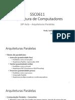 18aula - Arquiteturas Paralelas.pdf