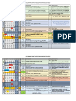 Calendario Academico 2018-19