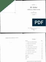 Al-Azhar, A Millennium of Muslim Learning.pdf