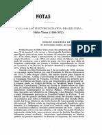Vultos Da Historiografia Brasileira Hélio Viana (1908-1972)