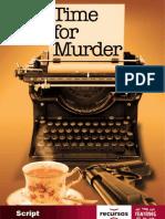 Time for Murder Script