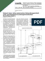 Entwurf einer visuo-motorischen Behandlungseinheit