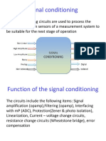 Sign Cond Op Amps