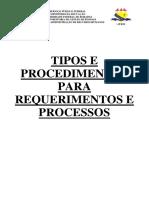 Procedimentos Para Requerimentos Atualizada Em 2017