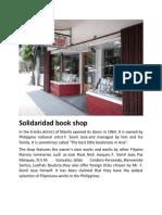 Solidaridad Book Shop